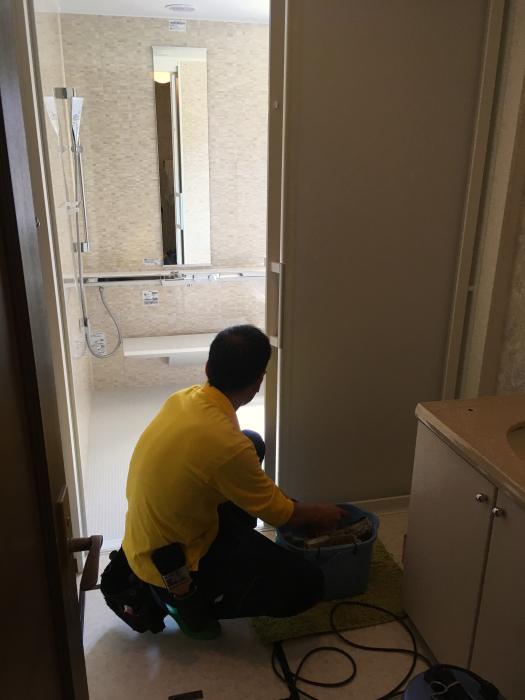 金沢市でお風呂工事