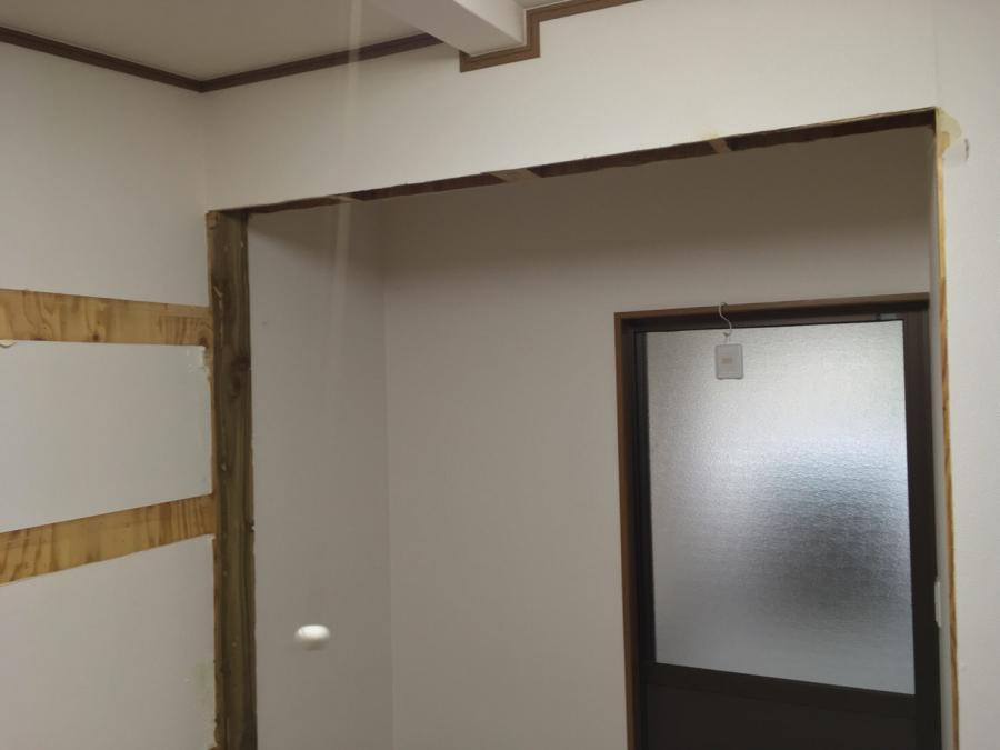 富山市 I様邸 内部改修工事 部分間仕切り