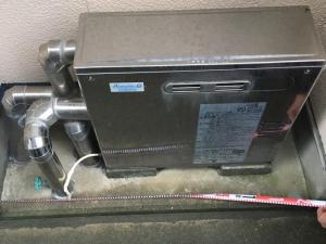 野々市市で石油給湯器交換工事をしました!