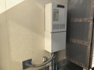 富山市 ガス給湯器・キッチン水栓交換工事