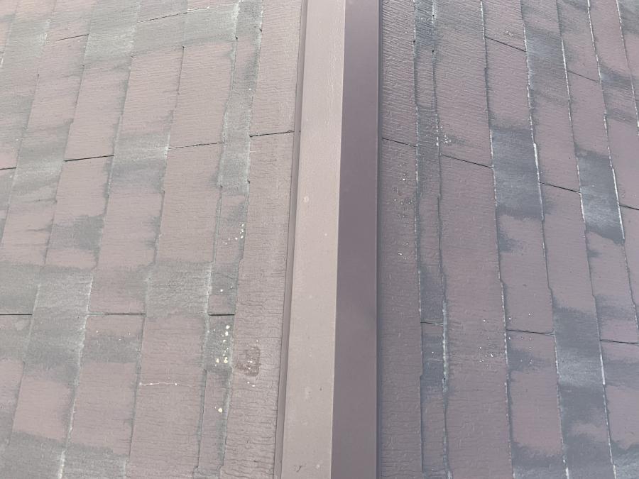 石川県 金沢市内で屋根重ね張り「スーパーガルベスト」を施工しました。