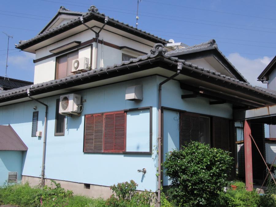 砺波市で外壁塗装工事 KFケミカル 無機フッ素塗装
