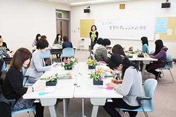 花セラピーフラワーアレンジメント教室