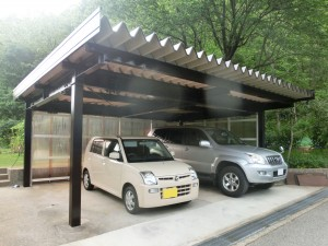 【E-0045】車庫塗装工事