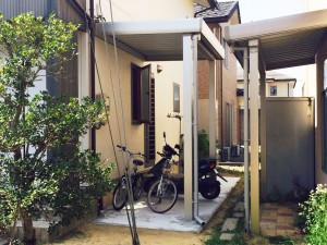 【E-0046】自転車置き場新設工事