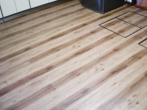 【R-0033】キッチン床張替え工事