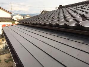 【Y-0065】小屋根板金工事
