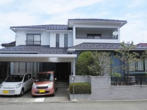 【GT-0105】外壁スーパームキコート塗装・金属屋根重ね張り工事