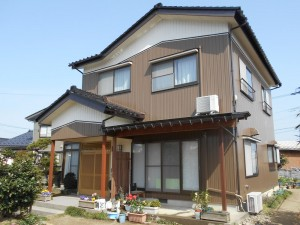 【GT-0106】外壁スーパームキコート塗装工事