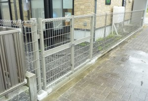 【E-0051】フェンス工事