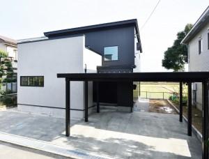 【HOUSE-0020】 カルフォルニアスタイル「MARIBU」新築工事