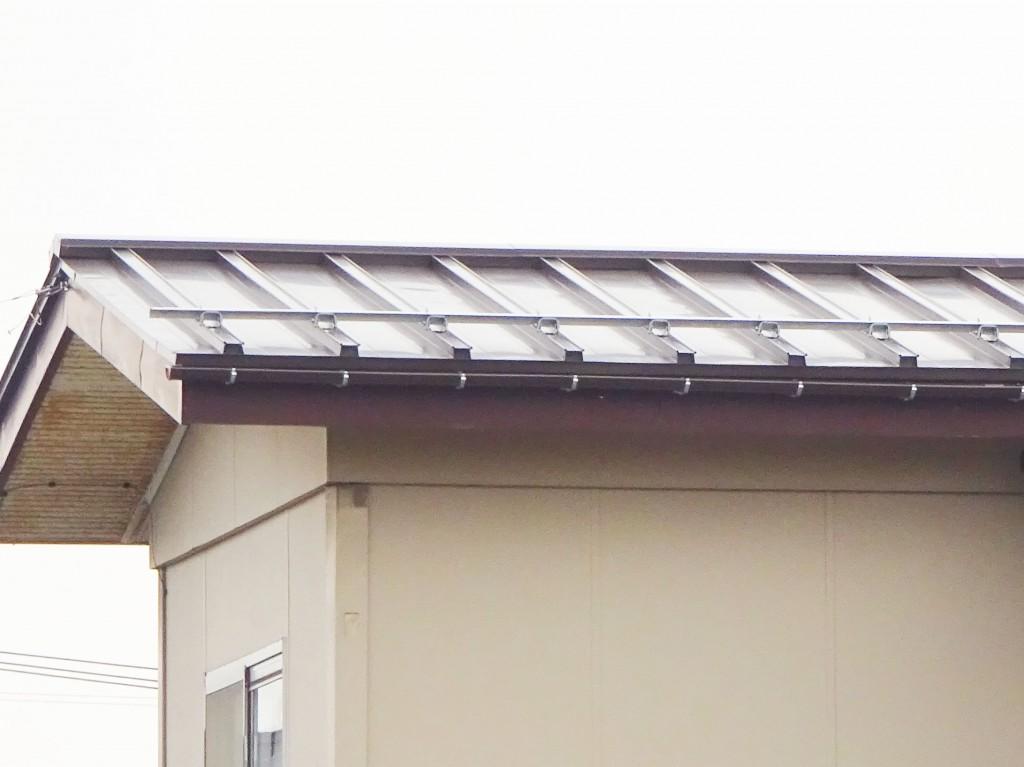 【Y-0070】屋根板金重ね張り工事