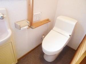 【T-0109】トイレ2箇所交換工事