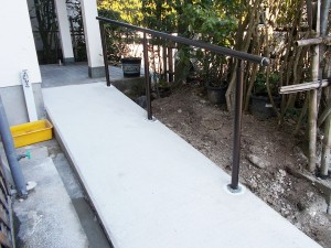 【E-0058】スロープ新設工事