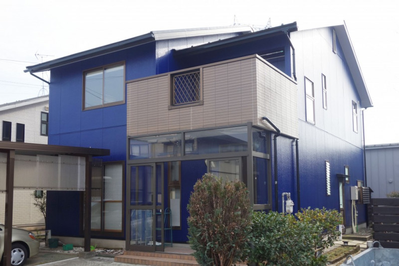【GT-0121】外壁スーパームキコートクリアー・屋根塗装工事