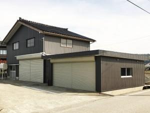 【GS-0155】車庫板金・屋根防水工事