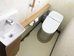 【T-0117】トイレ交換工事