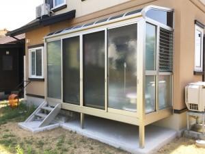 【E-0060】サンルーム新設工事