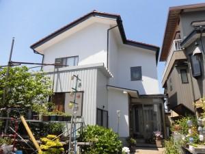 【GT-0126】外壁スーパームキコート塗装工事