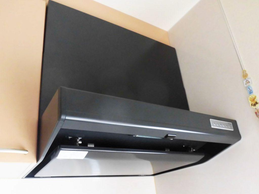 【仕様】レンジフード…パロマ PRH-VMA753K 色:ブラック