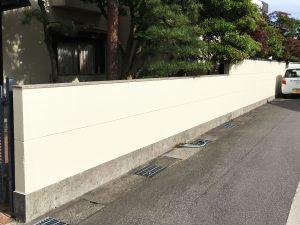 【E-0063】門塀塗装工事