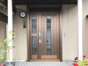 【E-0064】玄関ドア交換工事